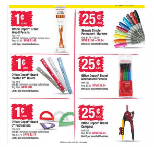 *Hot* Office Max/Office Depot: Back to School Deals Week ending 8/1/15