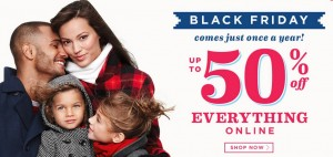 Old Navy BLACK FRIDAY DEALS Up to 50% Off + Additional 15%