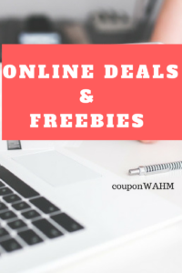 Freebies and Online Deals