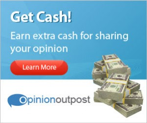 Earn Money Giving Your Opinion on Opinion Outpost