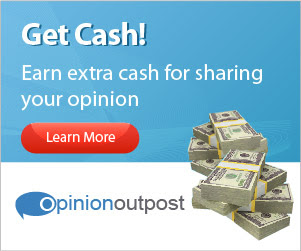 Share your opinions & make money with Opinion Outpost!