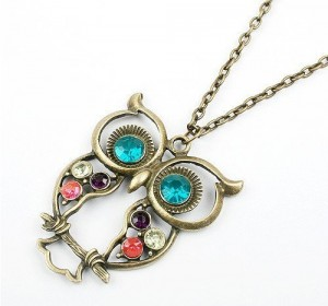 #Deals: Amazon: Colorful Owl Charm Necklace Only $2.65 Shipped