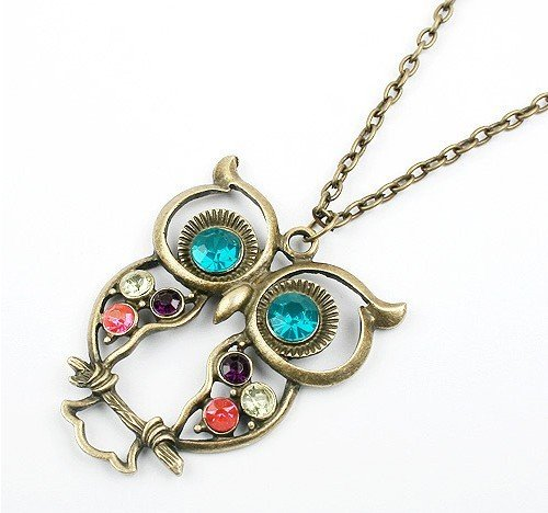 owl necklace 1