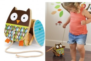 Skip Hop Treetop Friends Flapping Owl Pull Toy Only $18.00 Shipped