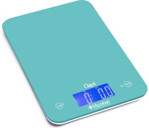 Ozeri Touch II 18 lbs. Digital Kitchen Scale offers Microban Antimicrobial & Product Protection