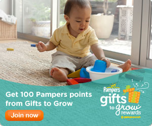 Pampers Gifts to Grow Rewards Points
