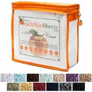 Enter to #win A #PeachSkinSheet Set #giveaways