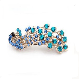 Crystal Peacock Hair Clips Just $5.87 Shipped!