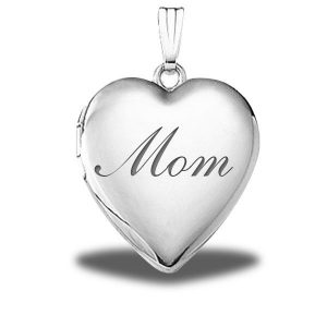 PicturesOnGold.com Sterling Silver 2 Photo Heart locket Giveaway
