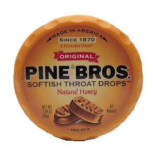 Throat Irritated? Try #PineBros Softish Throat Drops