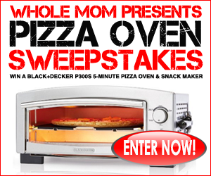 Enter to Win a Black and Decker P300S Pizza Oven from Whole Mom #giveaways