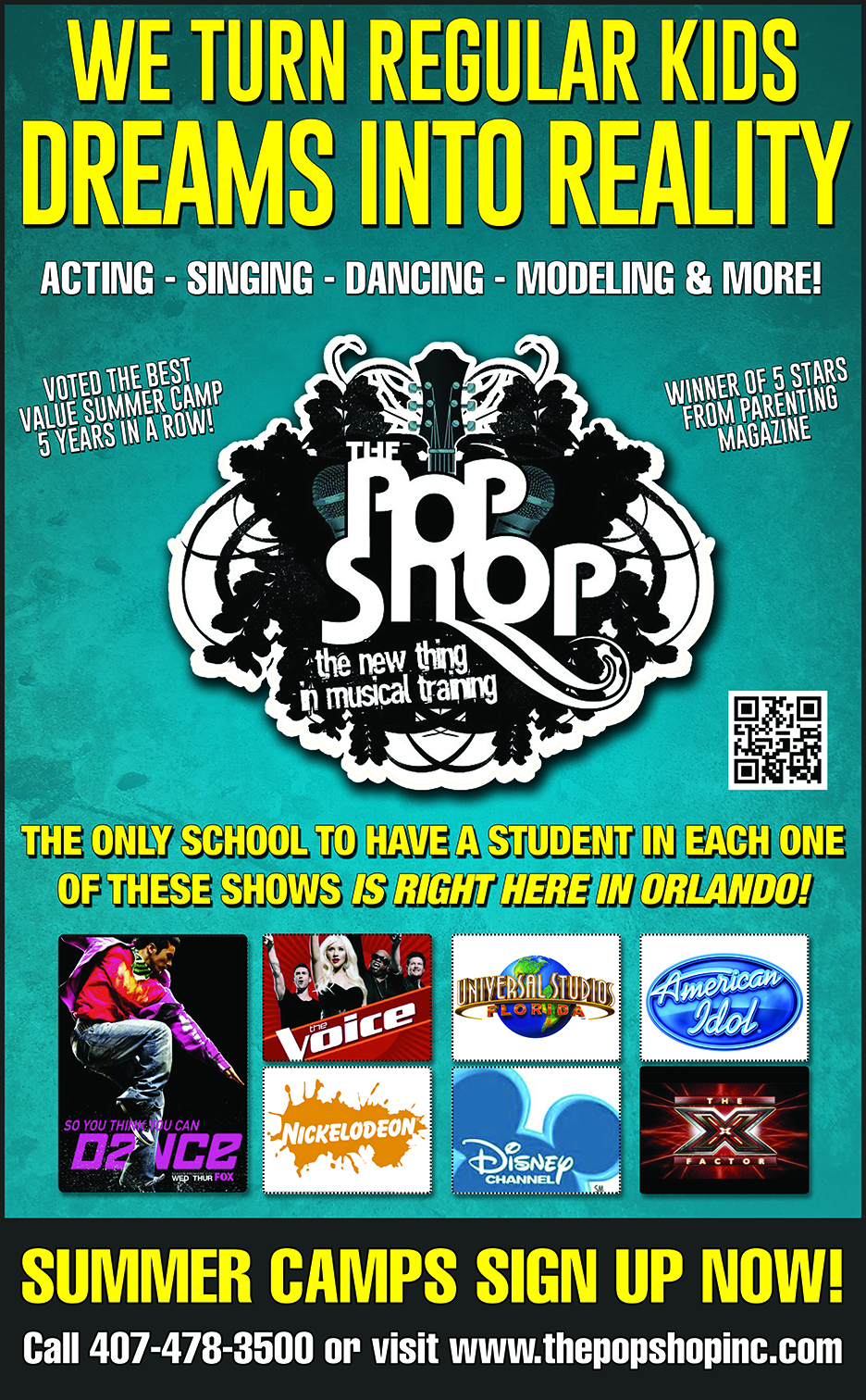 Premier Youth Performing Arts School @ThePopShop #deal- Save 20%