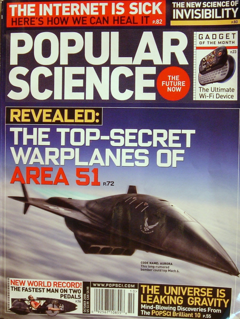 FREE 1 Year Subscription to Popular Science Magazine