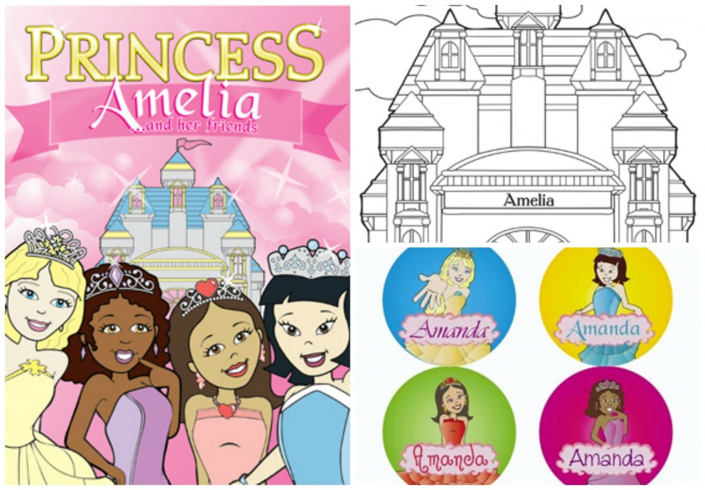 Freckle Box Personalized Princess
