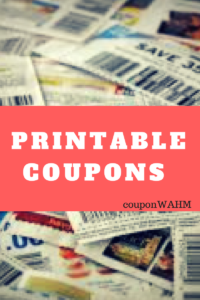 New Printable Coupons 12/2/17