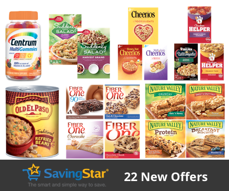 *Hot* New Coupons Cheerios and More