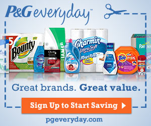 Join P&G Everyday for exclusive offers, tips and tricks