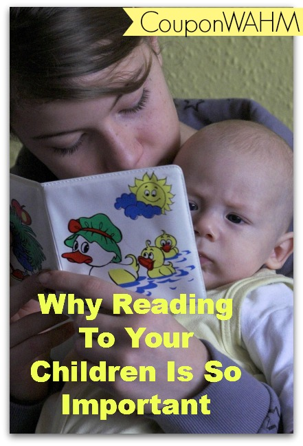 Why Reading To Your Children Is So Important