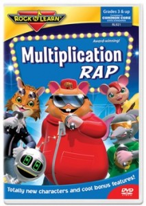 Rock N Learn' Multiplication DVD's Make Learning Fun For #kids #reviews