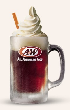 #free small A&W Root Beer Float 8/6/14