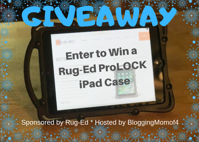 Enter to #win A Rug-Ed ProLOCK iPad Case #giveaways