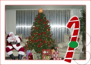 Create Holiday Memories with #icaughtsanta