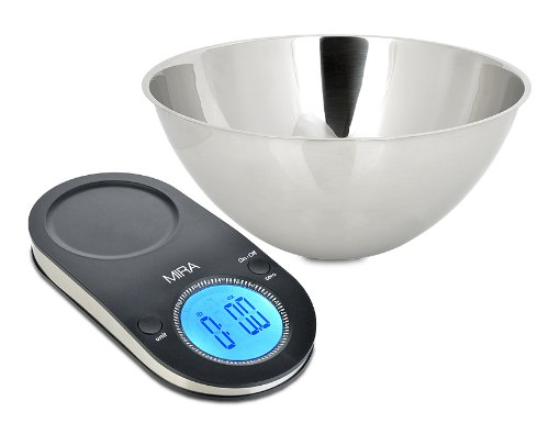 Baking is a cinch with the MIRA Digital Kitchen Scale with Bowl #reviews