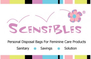 Scensibles:A Personal Disposal Bag For Feminine Care Products