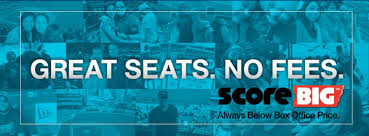 #sponsored Save Up To 60% On Every Ticket On @ScoreBig
