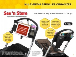 Review ~ Baby-Beehaven See and Share Multi-Media Stroller Organizer