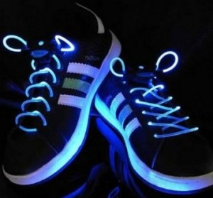 Light Up Flashing Glowing Shoelaces $4.99 Shipped