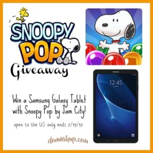 Enter for a chance to #win a Samsung Galaxy Tablet  (ends 7/19/17 at 11:59pm CST) #giveaways