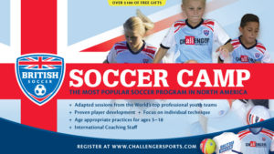 Get A Free Soccer Jersey, Soccer Ball, T-Shirt & Poster with Soccer Camp Registration #summer #camp