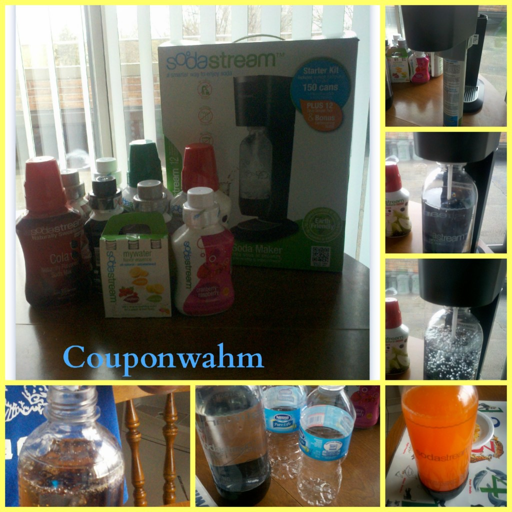 soda stream collage