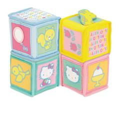 hello kittty soft blocks
