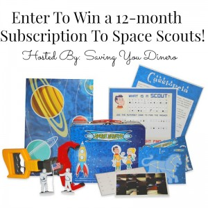 Enter to #win a 12 month Subscription to @SpaceScoutsClub #2105HGG #giveaways