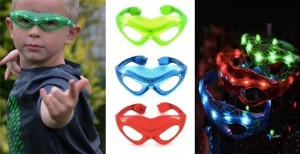 LED SPIDERMAN GLASSES $4.99