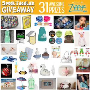 Enter to #win  31 amazing prizes in the #zippyzspooktacular #giveaway (ends 11/4)