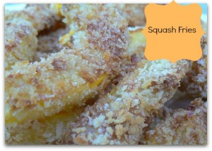 Scrumputious Squash Fries #recipe