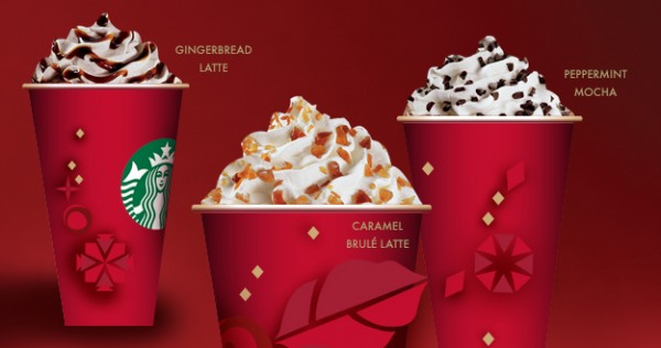 Starbucks: Buy One, Get One Free Holiday Drinks 11/12 – 11/16