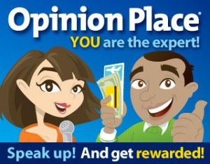 Make money with Opinion Place