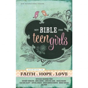The #NIVBibleforTeenGirls  Helps Girls Grow In Faith #FLYBY