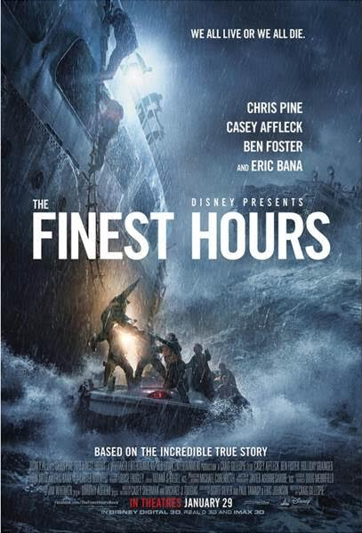 Disney's #TheFinestHours Hit's Theater's January 29, 2016