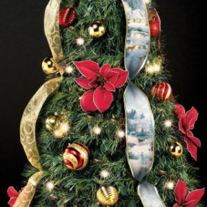 Holiday Gift Guide:Hammacher Schlemmer Christmas Tree's-Enjoy the beauty of a live tree without the mess!