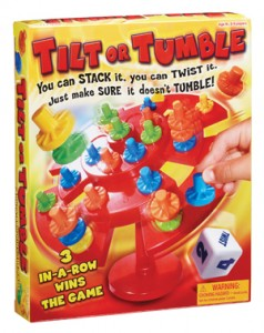 Shopping Guide:Fun Family Game Nights with Tilt or Tumble