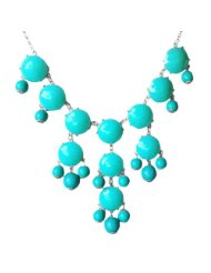 turquise bubble necklace
