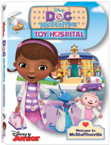 Enter For A Chance To Win Doc McStuffins – Toy Hospital DVD (ends 11/19) #giveaways