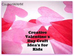 Creative Valentine's Day Craft Idea's for Kids