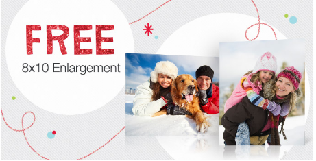 11/30 Last day for Free 8×10 Photo from Walgreens