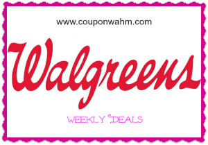 Best Walgreens Deals Week Ending 1/3/15